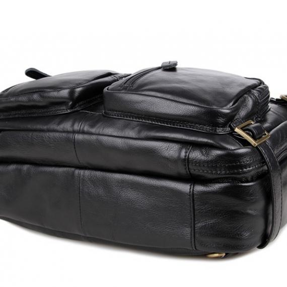 Шкіряна сумка-рюкзак 7026A